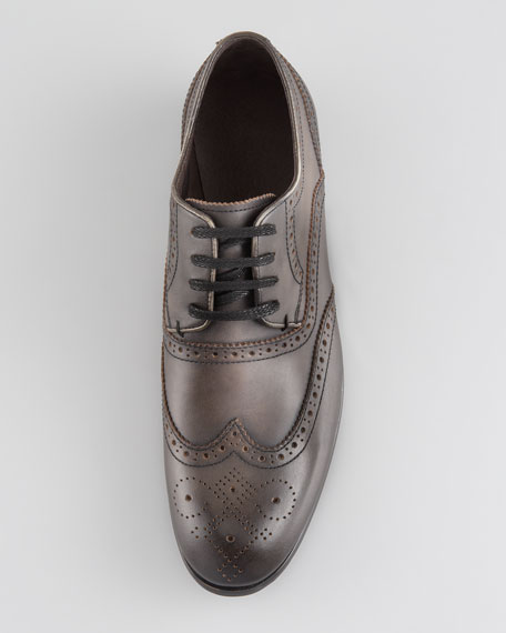 Sid Perforated Lace-Up