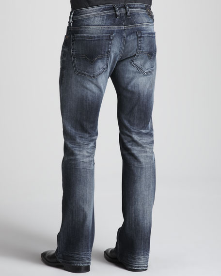 Zathan Faded Jeans, 33""