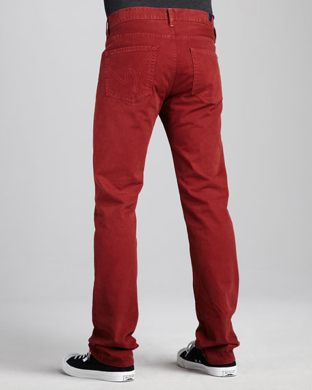Sid Classic Jeans, Rosewood