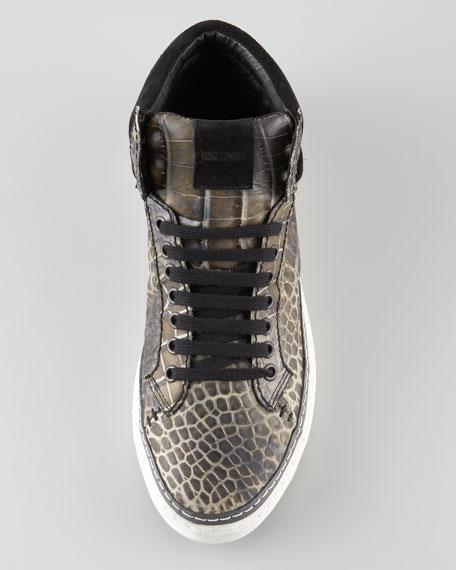 Printed Hi-Top Sneaker