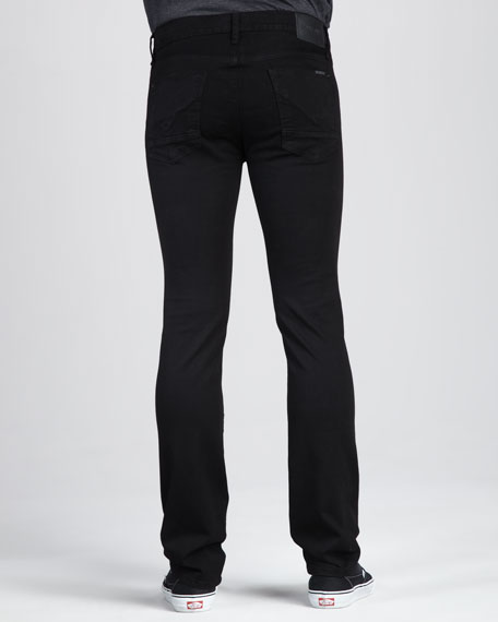 Hudson Byron Five-Pocket Pants, Jet Black