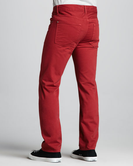 Slimmy Tapered Fire Brick Jeans