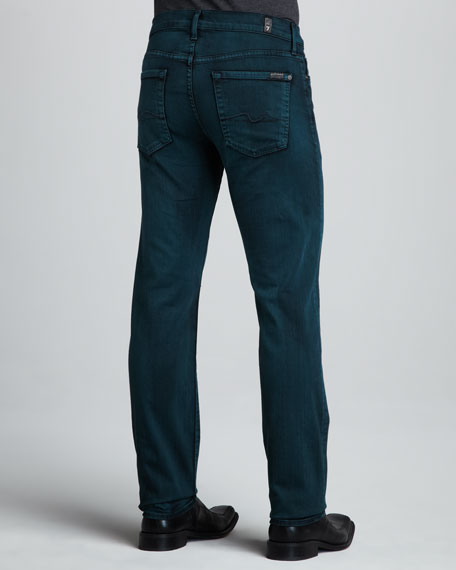 Slimmy Dark Green Jeans