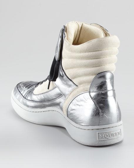 Joust Metallic Hi-Top Sneaker