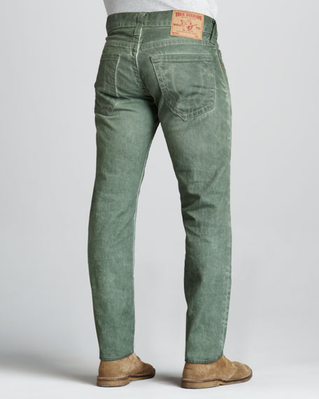 Geno Vintage Bottle Cold-Press Jeans