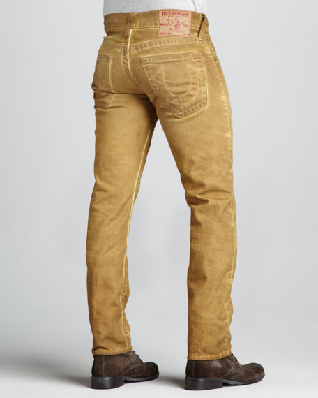 Geno Vintage Spice Cold-Press Jeans