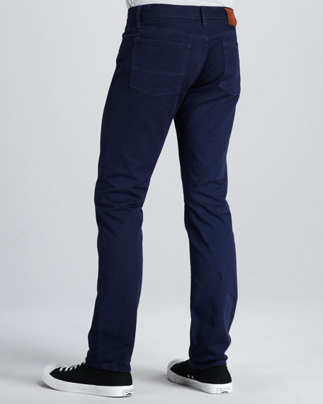Slim Five-Pocket Pants, Air Force