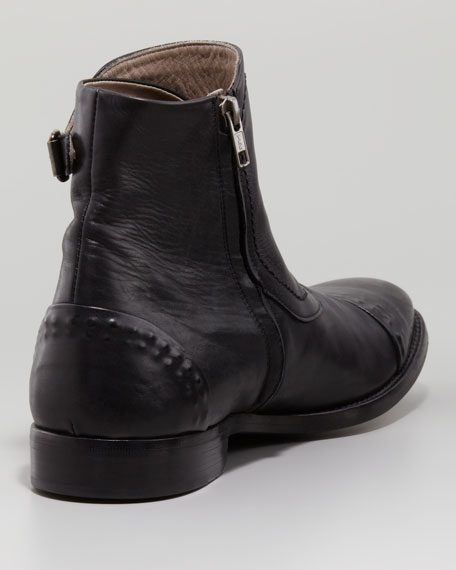 Three-Buckle Rivet Boot