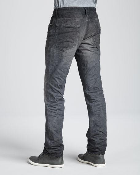 3D Vintage-Wash Regular-Fit Jeans