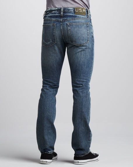 Slim Distressed Jeans