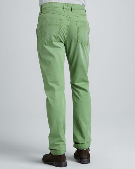 Yates Classic Jeans, Green
