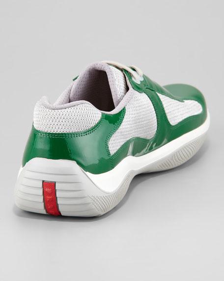 Prada Americas Cup Patent Sneaker