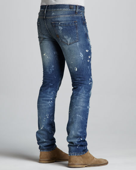 Slim Distressed Jeans