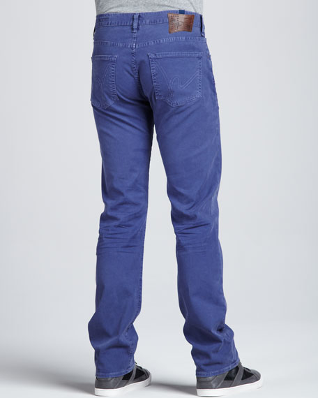 Sid Straight Periwinkle Jeans