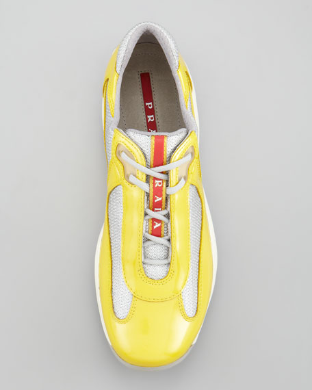 America's Cup Sneaker, Yellow