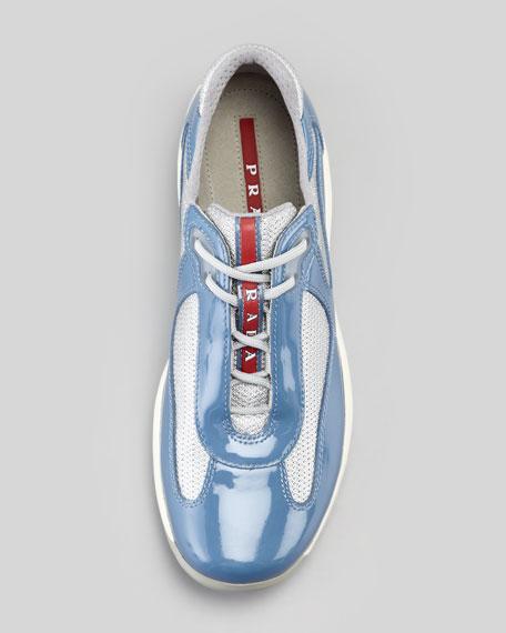 America's Cup Sneaker, Periwinkle Blue