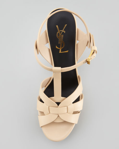 Tribute Platform Sandal, Poudre