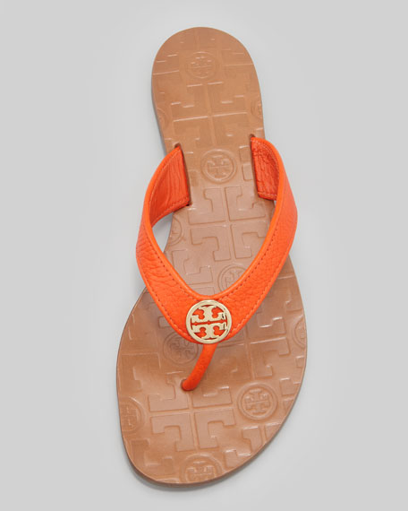 58e4ce816 Tory Burch Thora Leather Thong Sandal