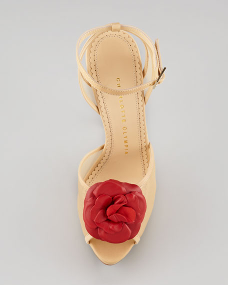 Florentina Flower Sandal