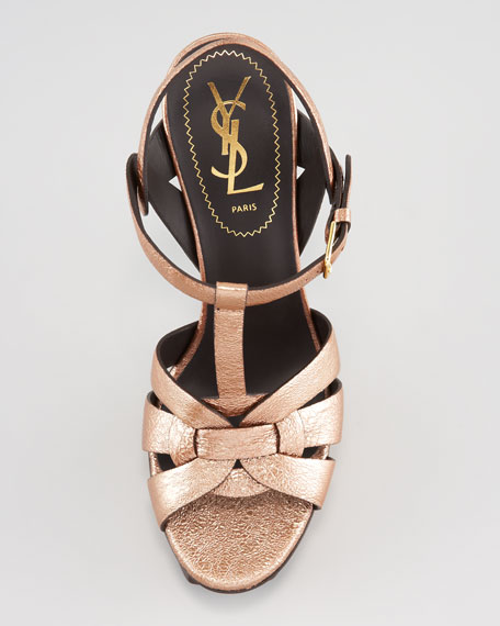 Tribute Metallic Leather Sandal