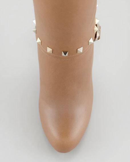 Rockstud Knee Boot