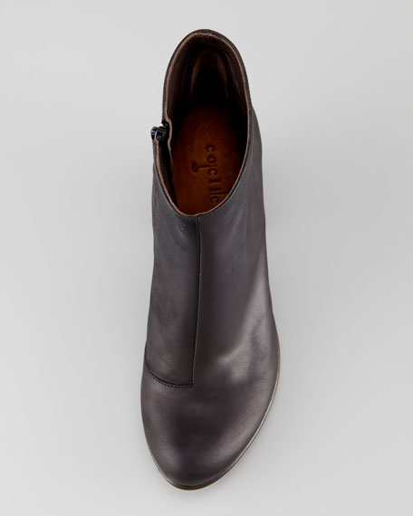 Vernon Leather Bootie