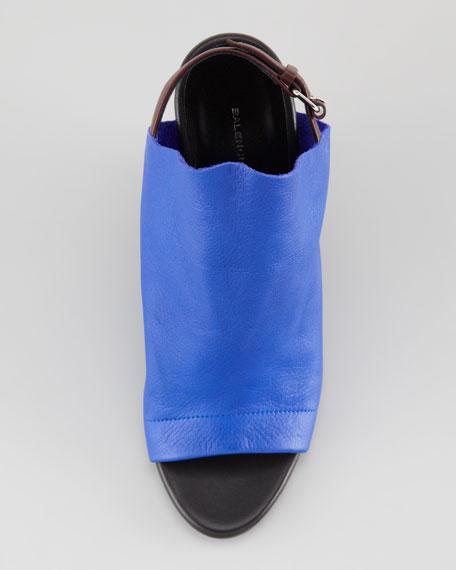 Leather Glove Wedge