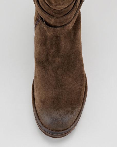 Suede Knee Boot