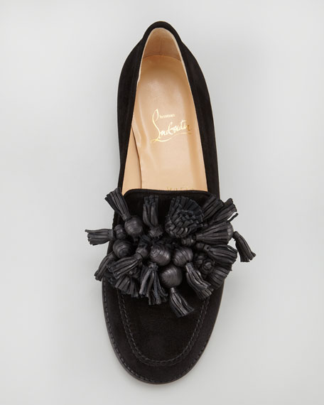 Japonaise Tassel Loafer, Black