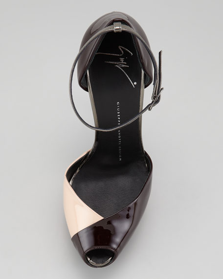Patent Leather d'Orsay Stiletto