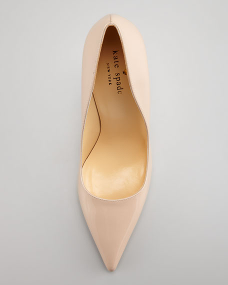 d249a3ba9564 kate spade new york licorice patent pointed-toe pump
