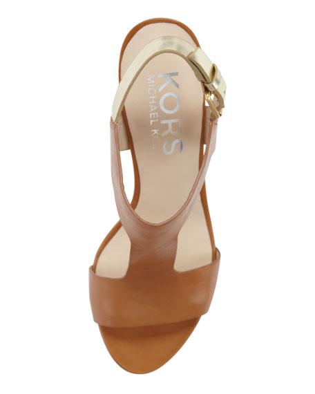 Xyla Leather Sandal