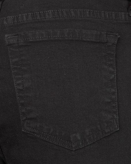 Petite Bootcut Jeans, Black