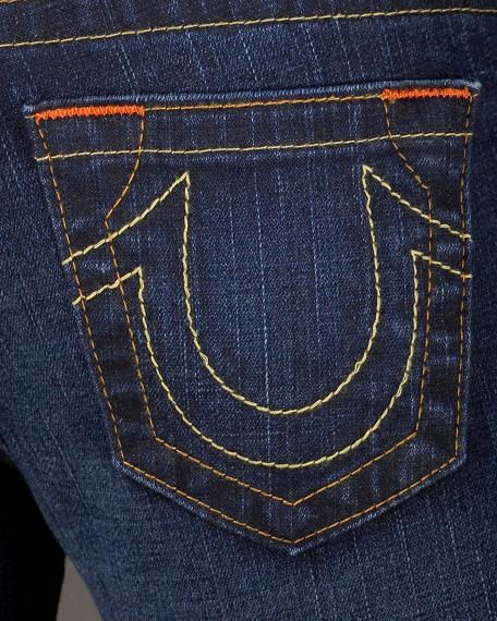 Tori Boot-Cut Lonestar Dark Jeans
