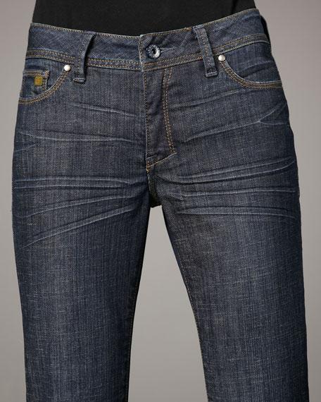 Lance Marine Berry Boot-Cut Jeans