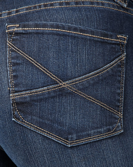 Hayden Straight-Leg Jeans, Petite