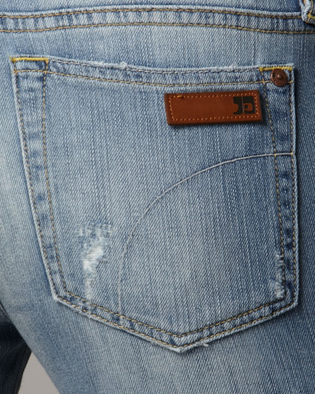 Cigarette Patricia Destroyed Jeans