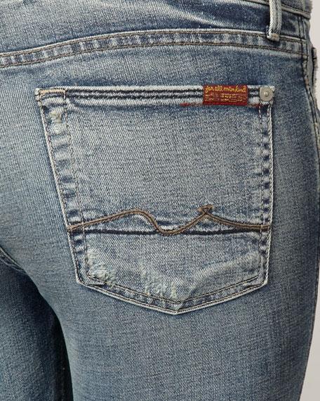 Kaylie Worn Nakita Slim Boot-Cut Jeans