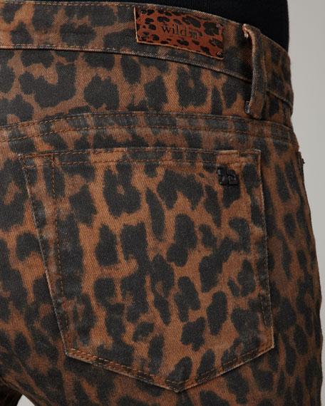 Chelsea Leopard-Print Jeans