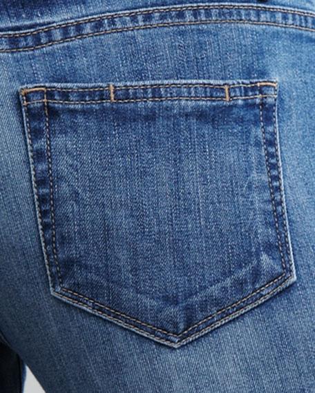 Troy Santa Cruz Rolled Skinny Boyfriend Jeans