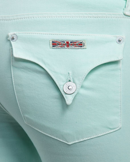 Collin Mint Skinny Jeans