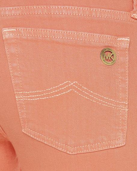 Jewel-Tone Skinny Jeans, Women's