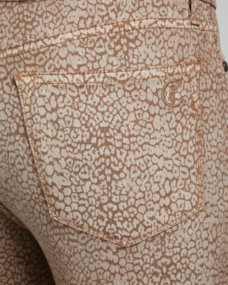 Joy Earth Snake-Print Leggings
