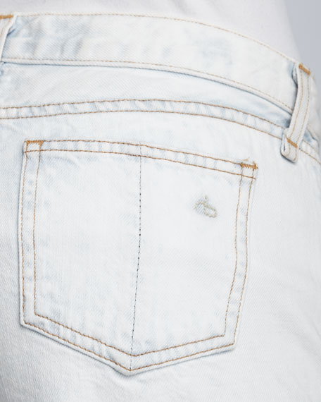 Bleached Cut-Off Shorts
