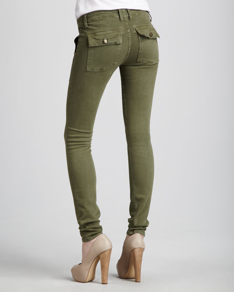 The Combat Skinny Army Jeans