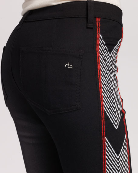 The Raja Embroidered Legging