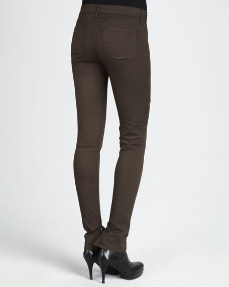 Zip-Leg Skinny Pants
