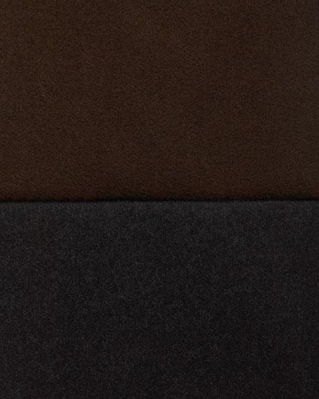 Asymmetric Belted-Zip Coat