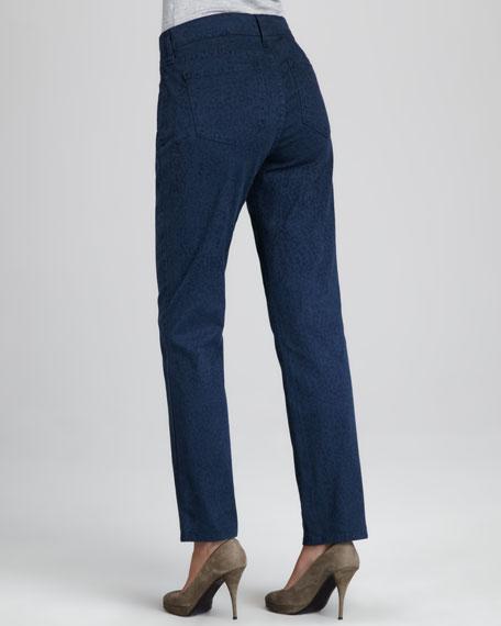 Sheri Novelty-Print Jeans, Women's