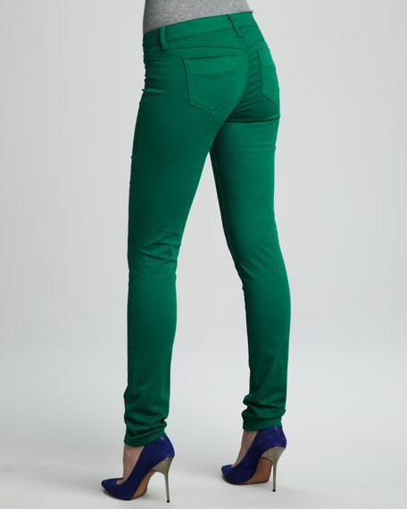 Spring Street Skinny Jeans, Green